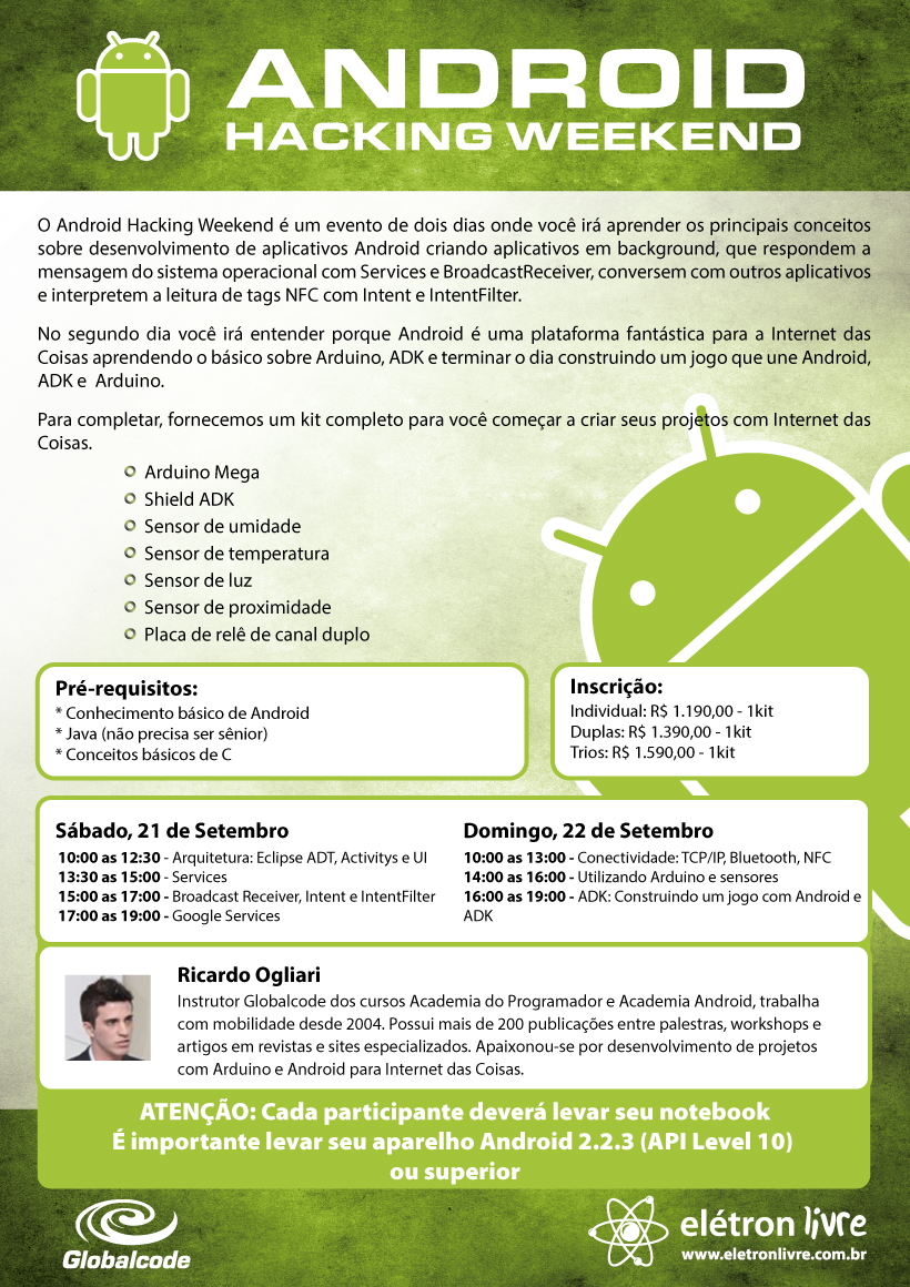 Android Hacking Weekend